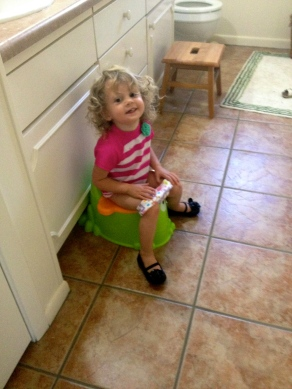 The year that was potty training.