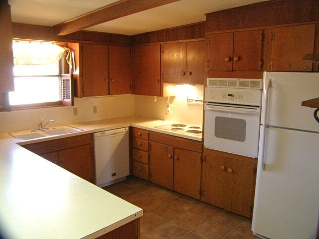 70's Kitchen Remodel Budget Wood Cabinets